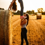 acrobatic girls