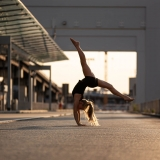 acrobatics at the airport - outdoor