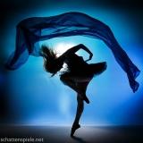 ballett in blue