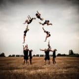 ceerleader corn field
