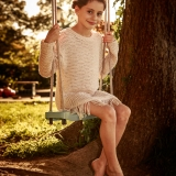 child gymnast in fall