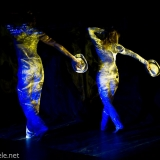 projections with dancers
